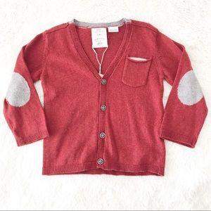 Zara Babyboy Knit Cardigan 18/24 Months NWT